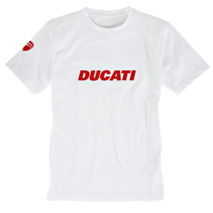 98769051 T-SHIRT DUCATIANA BLANC