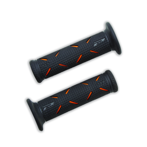 96280611AB POIGNEES RACING PROGRIP ORANGE NOIR