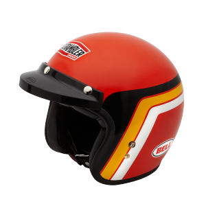 98103350 CASQUE JET BELL ORANGE TRACK SCRAMBLER