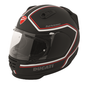 98104021 CASQUE ARAI REBEL DUCATI REDLINE