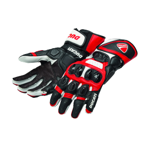 98104207 GANTS ALPINESTARS SPEED EVO DUCATI ROUGE BLANC
