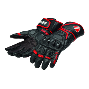 98104208 GANTS ALPINESTARS SPEED EVO DUCATI ROUGE NOIR