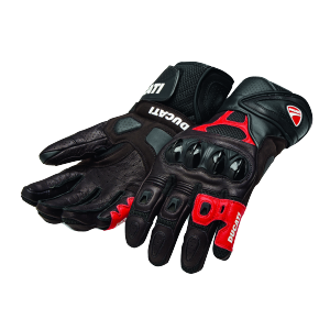 98104210 GANTS ALPINESTARS SPEED AIR DUCATI ROUGE NOIR