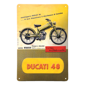 987694029 PLAQUE METALLIQUE DUCATI 48