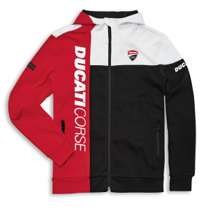 98770080 SWEAT ZIP DUCATI CORSE TRACK