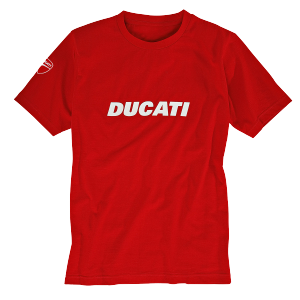 98769050 T-SHIRT DUCATIANA ROUGE
