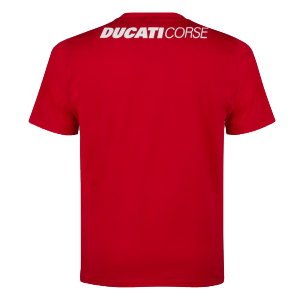 98769502 T SHIRT DUCATI CORSE SKETCH ROUGE