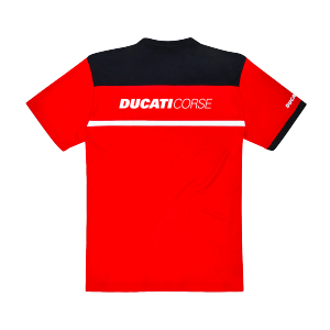 98769905 T SHIRT DUCATI CORSE POWER ROUGE