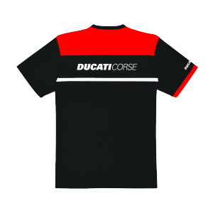 98769906 T SHIRT DUCATI CORSE POWER NOIR